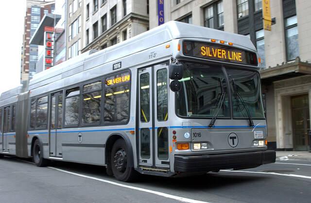 ボストン地下鉄シルバーライン車体