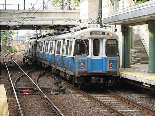 ボストン地下鉄ブルーライン電車車体