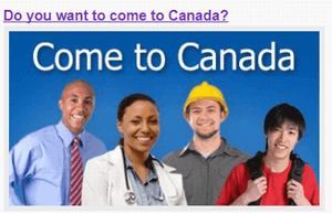 Come to Canada