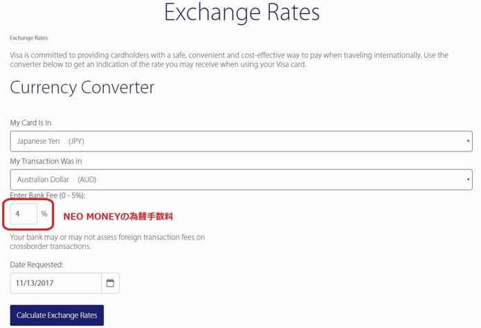 オーストラリアドルの為替レート1