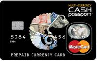マルチカレンシーキャッシュパスポートのカード