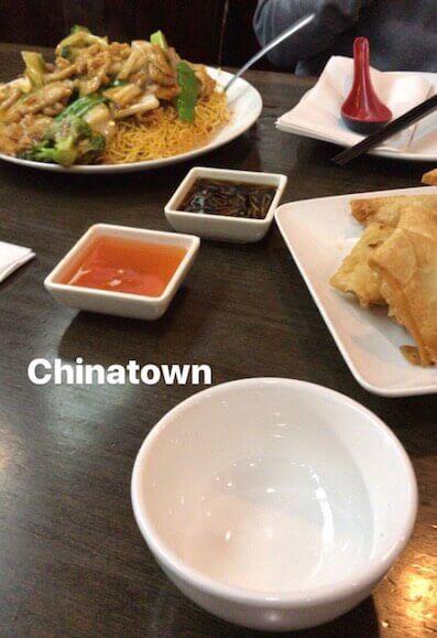 ボストンの中華料理