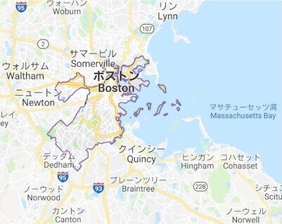 ボストン地図